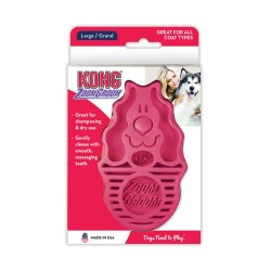 Kong ZoomGroom Rose pour chien