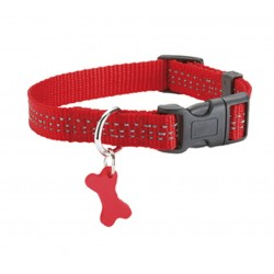Collier Safe Rouge Bobby