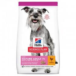 Hill's Science Plan Canine Adult Mature 7+ Mini Light - 2,5 kg
