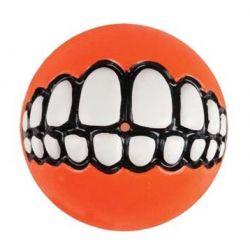Balle pour chien Rogz Grinz - Orange