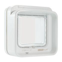 Chatière électronique SureFlap DualScan Blanche