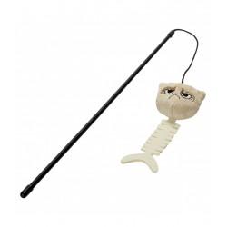 Canne à pêche pour chat...