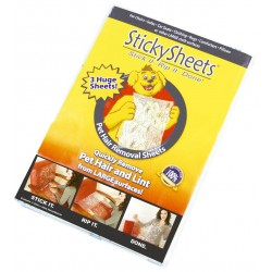 Sticker adhésif anti poils...