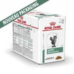 Royal Canin Veterinary Diet Cat Satiety Weight Management - 12 x 85 g