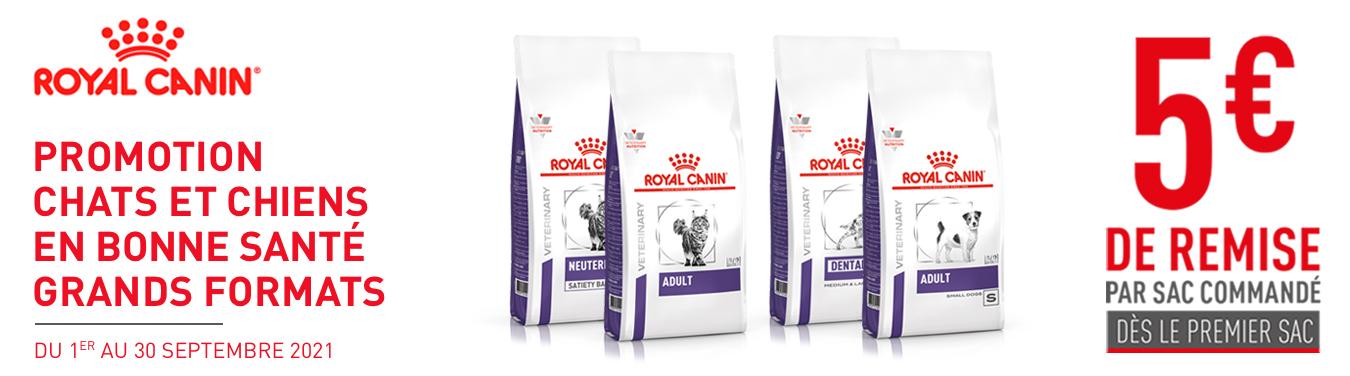 promotion royal canin 5% de remise